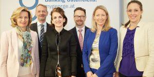 Im Bild v.l.n.r. Mag.a Renate Pretscher (Verbund AG), Manfred Wondrak, MBA, CMC (factor-D Diversity Consulting GmbH), Mag.a Sanela Terko (BDO Austria AG), Christian Jänsch (ORF-Zeit im Bild, Moderation), Vera Budway-Strobach, M.A. (Erste Group Bank AG) und Mag.a Irene Jakobi (Telekom Austria AG)